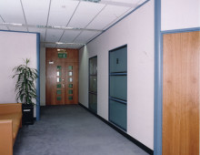 Kameo Office Partitioning Reception