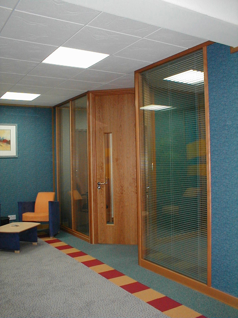 Avanta UK Office Partitions Glazed Office Partitions and