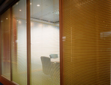 Klassic Office Partitions With Blinds