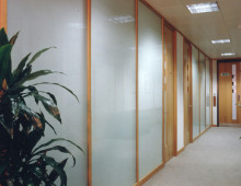 Klassic Office Partitons with privacy glass