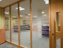Run of klassic office partitioning