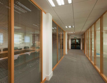 Klassic Office Partitions Timber Frame With Glazing