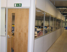 Komfire Partitioned Warehouse Office
