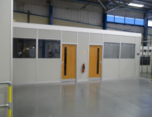 Komfire Office Partitions Huddersfield
