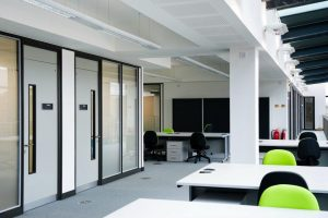 Komfire and Glazed Polar Office Partitions