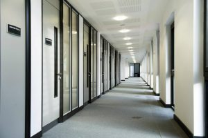 Komfire office partitioning Leeds