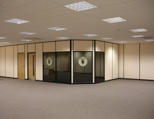 Komfire Solid & Glazed Office Partitions