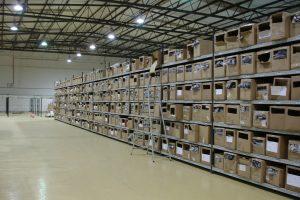Longspan Shelving for clothing retailer