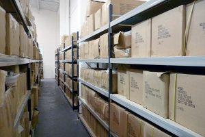 Warehouse Longspan Shelving