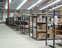 Longspan Warehouse Shelving