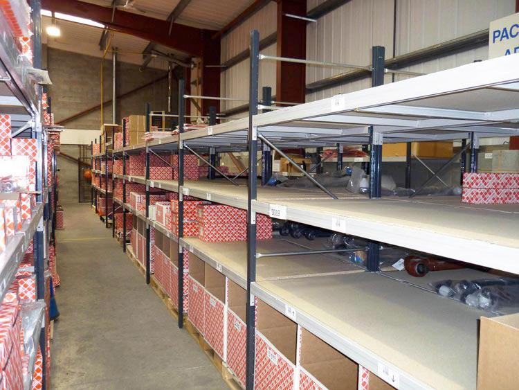 Avanta Complete Multi-Storage Equipment For Yorkshire Based Febi Bilstein