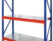 Longspan Stockroom Shelving with Galvanised Decks