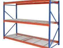 Longspan Stockroom Shelving Mesh Decks