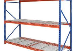 Longspan Stockroom Shelving Mesh Decks