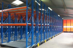 Low Rise Mobile Pallet Racking