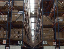 High Narrow Aisle Racking Installation