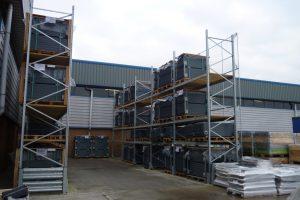 External Galvanised Pallet Racking