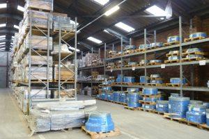 large pallet racking installation