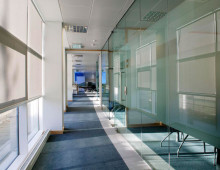 Polar Glazed Office Partitions in Whitehall