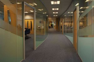 Polar Glass Partitions Install In Leeds