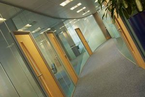 Glazed office partitions Huddersfield