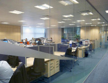 Polar Glazed Partitions For Maria Mallaband