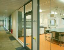 Polar Single Glazed Office Partitions Huddersfield