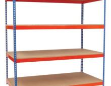 Heavy Duty Rivet Stockroom Shelving