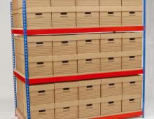Rivet archive shelving