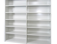 Rolled Edge Shelving Clad to sides and Rear