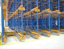 Shuttle Racking Installation