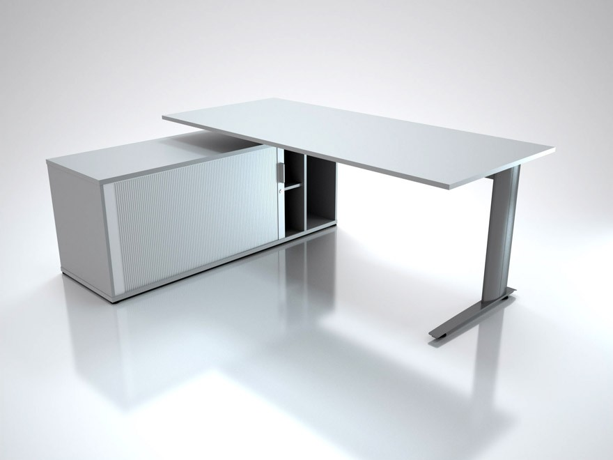 office desk with storage. Office Desk Storage With
