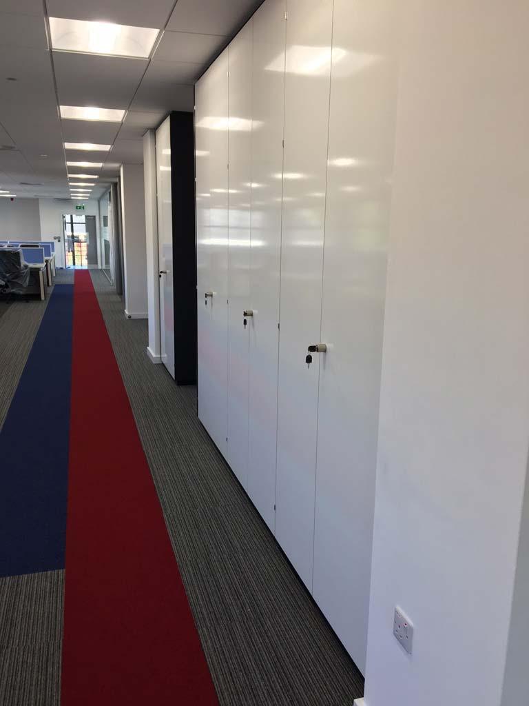 Office Storage Systems Storagewall Shelving Avanta Uk