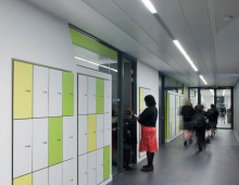 Storage wall lockers