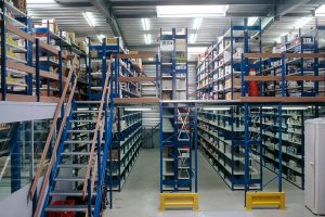 Two Tier Shelving System