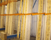 Vertical Rack for Timber Storage