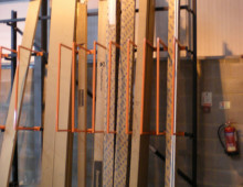 Vertical Rack with D Dividers