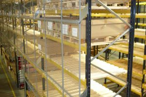 Pallet racking bay installed in west yorkshire