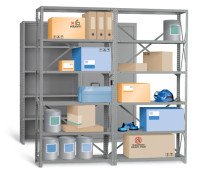Industrial Angle Shelving