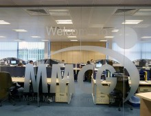 Glass office partitioning Leeds