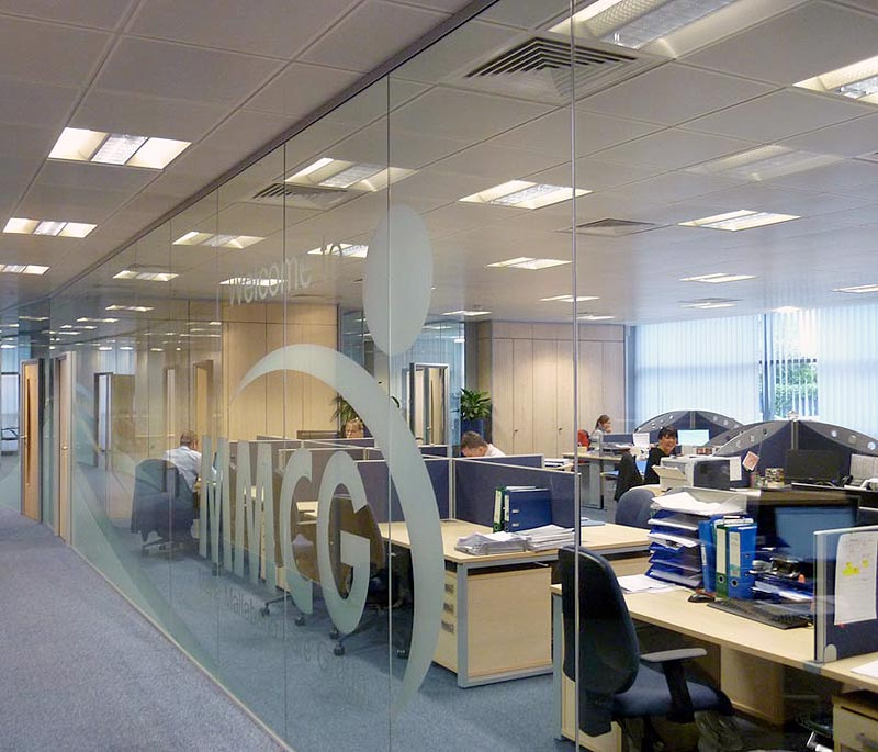 Polar Glazed Office Partitions in Leeds