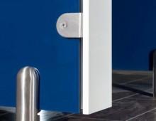 Washroom Cubicle Close Up
