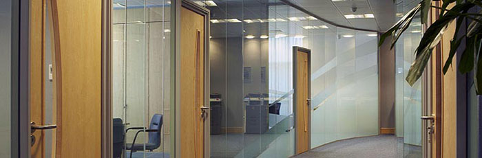 Polar Glazed Office Partitions