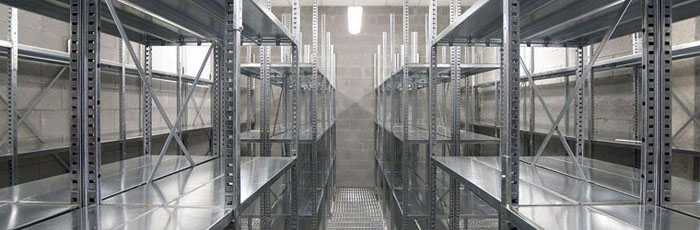 Galvanised Steel Shelving Systems