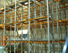 Push Back Pallet Racking Installtion in Leeds