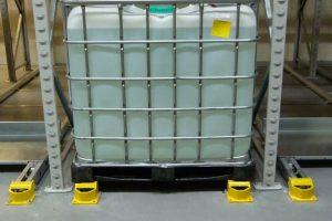Chemical Storage Push Back Pallet Racking