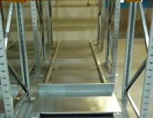 Individual Push Back Pallet Racking