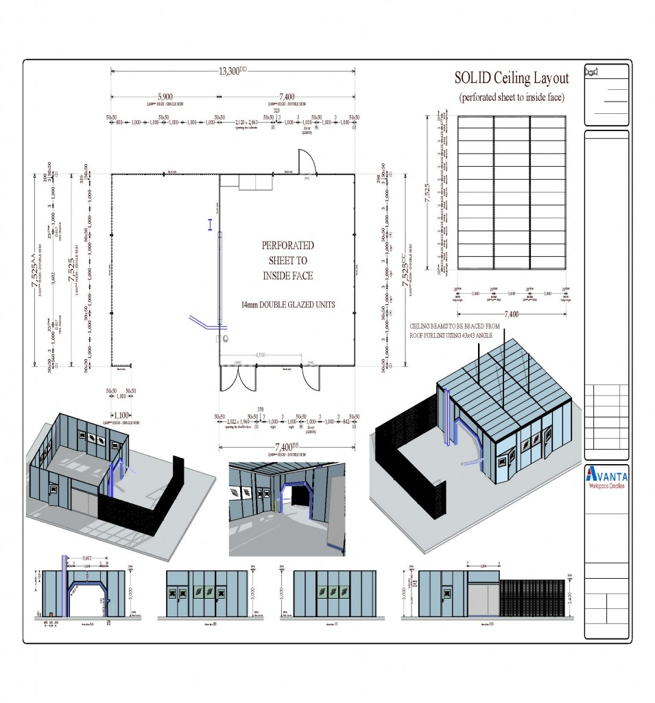 Steel Partitioning_Case_Drawing