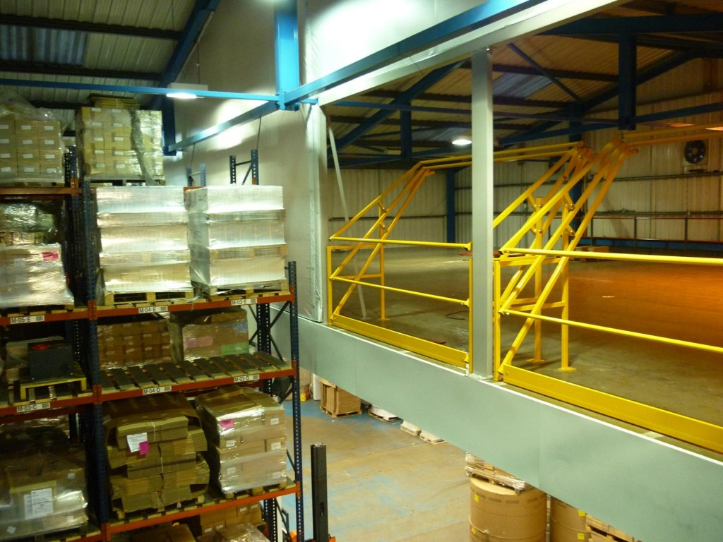 Widespan Fire Rated Mezzanine Install In Bradford