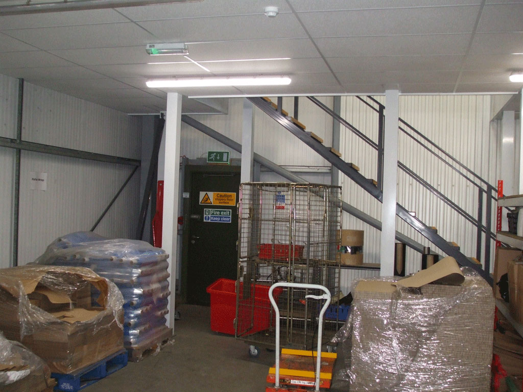 Mezzanine Floor Installation In Lincoln By Avanta